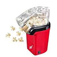 SMILEDRIVE® Hot Air Portable Popcorn Maker, Mini Pop Corn Making Popping Machine-Get Theatre Quality Popcorn at Home