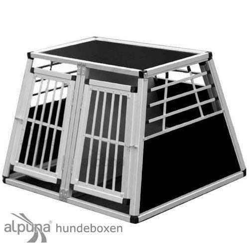 Transportbox N12 > 82x93x66cm Doppelbox Notausstieg