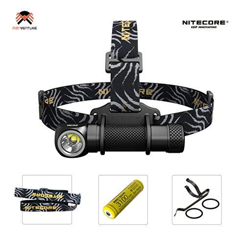 NITECORE HC33 LED Stirnlampe - IP68 2M Wasserdicht Taschenlampe Magnetische Multifunktionslampe aufladbar mit CREE 1800 Lumen Kopflampe[ Mit 3100mAh IMR 8A Akku ]