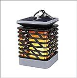 LWPCP Solarlichter Imprägniern Flackerndes Flames, Das Laterne, Dunklen Sensor-Automatisches an/Weg Solarnachtlicht-Haus-Garten-Terrasse-Dekorative Lichter Hängt