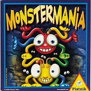 Piatnik Monstermania Niños Juego de táctica - Juego de Tablero (Juego de táctica, Niños, Niño/niña, 5 año(s), 40 Pieza(s), Brad Ross, Jim Winslow)