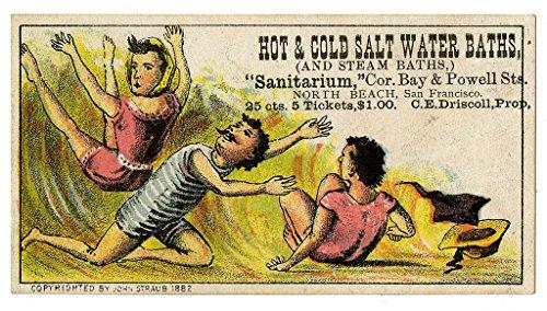poster-a3-advertisement-sanitarium-hot-and-cold-salt-water-baths