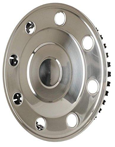 Hansen Styling Parts - 2 copricerchi in acciaio INOX 15