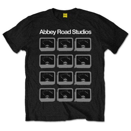 Abbey Road Studios Herren T-Shirt Gr. XXXX-Large, Schwarz - Schwarz (Abbey Road Schwarz T-shirt)