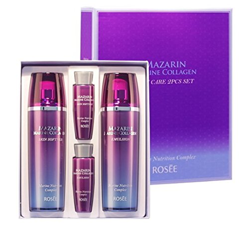 Korean Cosmetics_Rosee Mazarin Marine Collagen 2pc Gift Set