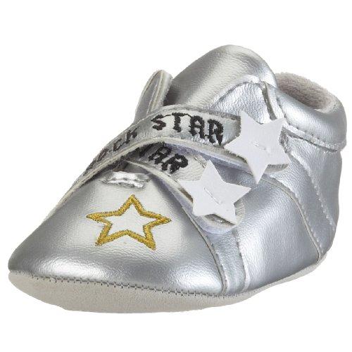 Chaussures bébé en cuir Pure (0–6mois) 19/20 argent argent