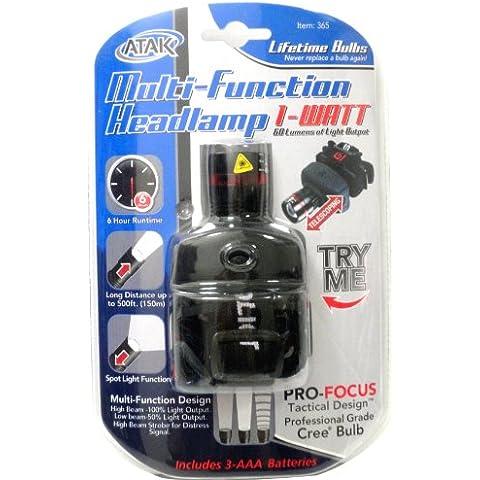 Atak 120 Lumen LED Multi-Function Headlamp by ATAK