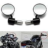 1 Paio Specchietto Retrovisore Moto Manopola Manubrio Laterale Specchi Retrovisori Posteriore