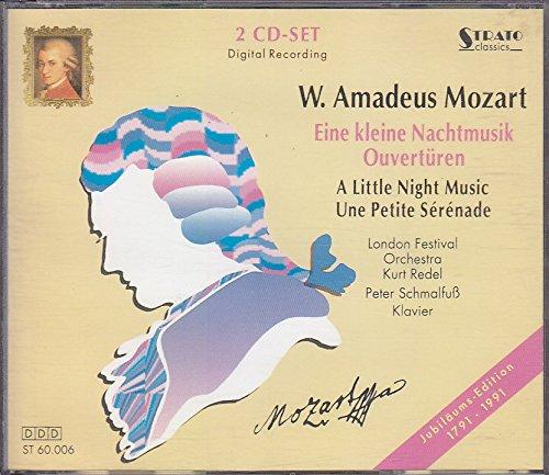 W. Amadeus Mozart - Eine kleine Nachtmusik Ouvertüren - 2 CD Set Digital Recording - Jubiläums Edition 1791-1991