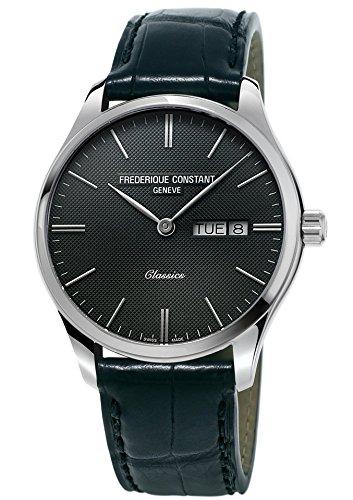 Orologio uomo solo tempo Classic Quarzo Swiss Made - Frederique Constant