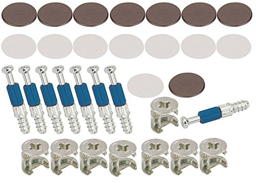 Türstopper FleißIg Metall Platte 4mm Montageloch Kabinett Schrank Tür Magnetverschluss Silber Ton