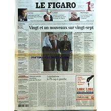 FIGARO (LE) [No 17960] du 08/05/2002 - CINEMA - JEFF BRIDGES SUR LE FIL DU RASOIR DANS K-PAX. RENCONTRE - FOOTBALL - LEMERRE A ANNONCE SA SELECTION AU COURS DU STAGE DE TIGNES - MARTINIQUE - LA MONTAGNE PELEE CENT ANS APRES L'ERUPTION - DU SOLIDE, DU NOUVEAU PAR ALEXIS BREZET - LE MONDE AU CHEVET DES ENFANTS - LA HOLLANDE TRAUMATISEE PAR LA MORT DE FORTUYN - ENQUETE - L'ETRANGE DISPARITION DE GAIRAUT - LARZAC - LA JUSTICE EXPULSE UN AMI DE BOVE - NUITS BLANCHES EN ISLANDE - LES CAMPUS AMERICAIN