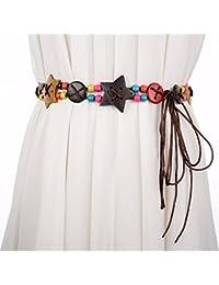 64ca3670d3e1 YISANLING-YD Mme Ceinture Tissée yaolian Glands Bohème Bougie Décorative  Robe Longue Corde de Ceinture