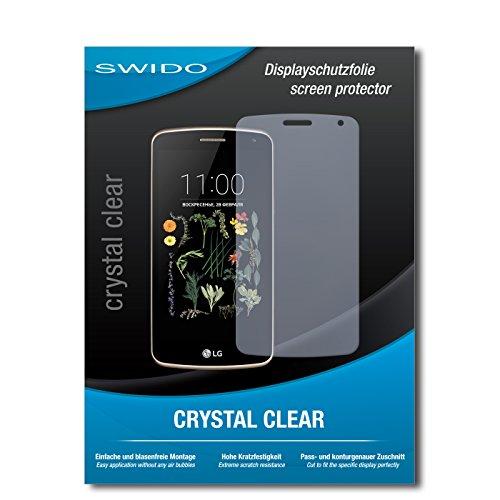 SWIDO Schutzfolie für LG K5 [2 Stück] Kristall-Klar, Hoher Härtegrad, Schutz vor Öl, Staub & Kratzer/Glasfolie, Bildschirmschutz, Bildschirmschutzfolie, Panzerglas-Folie