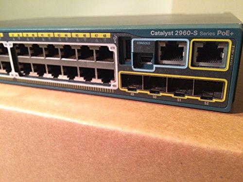 CATALYST 2960S STACK 48GIGE POECPNT4X SFP LAN BASE IN