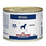Royal Canin Renal Dosen Hund - Dosenfutter für Hunde mit chronischem Nierenversagen 12x200g