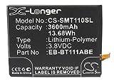 CameronSion 3600mAh CS-SMT110SL für Samsung SM-T110, SM-T111, SM-T113, SM-T116NU, Galaxy Tab 3V, 3 Neo, 3 Lite 7.0 3G, 3 Lite 7.0, 3 Lite 7.0 VE, 3 Lite 7.0 4G LTE, 3 Lite 7.0 WiFi akku