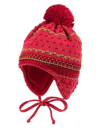 MaxiMo Mütze mit Struktur - Bonnet - Fille Rouge (flamme 84)