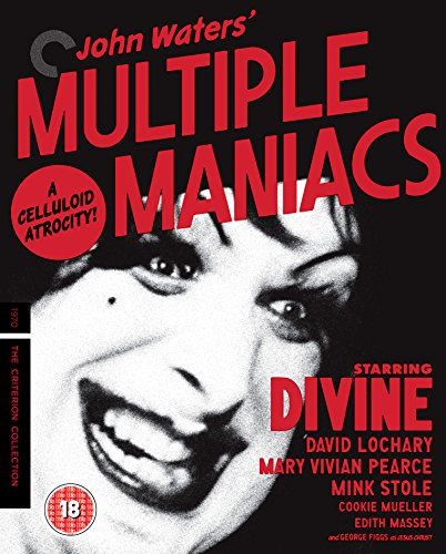 Multiple Maniacs [The Criterion Collection] [Blu-ray] [Region Free] UK-Import, Sprache-Englisch