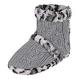 JINTN Ball Nähte Stiefel Pantoffeln Warme Schuhe Winter Stiefeletten Schlupfstiefel