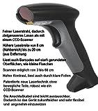 Albasca Barcode LASER-SCANNER LS6000 USB