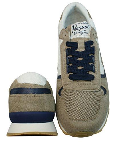 Penguin Foxtrot Hommes baskets / Chaussures Marron