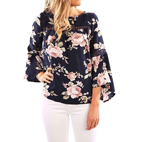 N.Life Nlife Frauen Ärmelloses Blumen Ärmelloses Bluse Hemd Tops Tanks Camis Camisole (S, Floral-13) (Blume Cami)