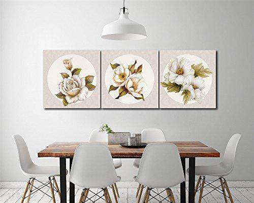 LB Plantas,Flores,Rosa Blanca_Cuadro Pintura óleo
