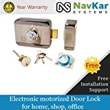 Stainless Steel Electronic Door Lock for Wooden & Metal Doors wid Motorised Tech Stainless Steel Door Lock wid Motorised Technology