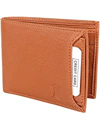 Creature Bi-Fold Tan Color Faux-Leather Wallet For Men/Boys With Multiple Card Slots(Color-Tan  WL-046)