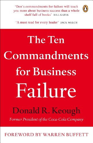 The Ten Commandments for Business Failure - Stock Model Air