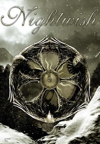 NIGHTWISH emblem drapeau/ flag /