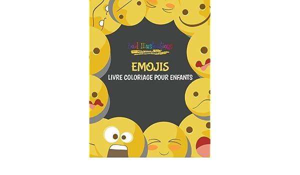 Coloriage Emoji Difficile.Amazon Fr Emojis Livre Coloriage Pour Enfants Bold