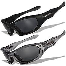 2 gafas de sol deportivas con lentes polarizados y marcos originales  MD ,  MD11 54a120cecf