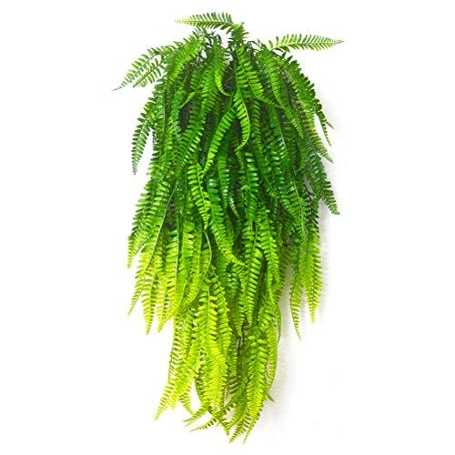 Boston - Arbustos artificiales de vid para colgar en el hogar, jardín,...