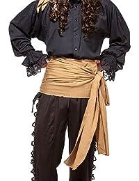 Pirata Renaissance Medieval Lino grande Sash