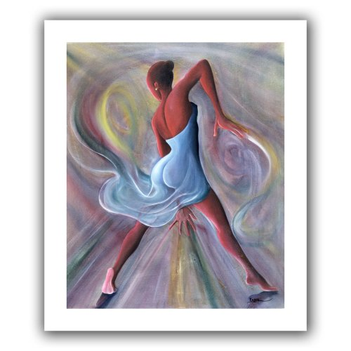 Art Wandbild beckford-001-24x 20Ikahl Beckford 'blau Kleid' Brillanz Leinwand Art, 28von 24