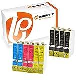 Bubprint 10 Druckerpatronen kompatibel für Epson T0711 T0712 T0713 T0714 für Stylus SX105 SX210 SX218 SX400 DX4000 DX4400 DX6000 DX6050 DX8450 BX300F