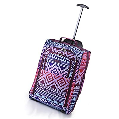 '5 Cities® Lightweight Cabin Luggage Hand Luggage Suitcase Travel Bag Cabin Luggage 42L - low-cost UK light store.