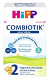 HiPP 2 Bio ComBiotik ohne Stärke, 4er Pack (4 x 600 g)