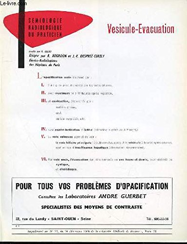VESICULE-EVACUATION - COLLECTION