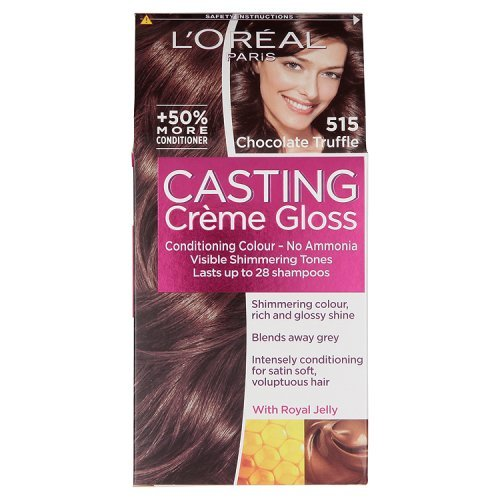 L'Oreal Paris Casting Creme Gloss Hair Colourant 515 Choc Truffle -