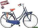 Hoptec Altec Dutch 28 Zoll Transportfahrrad 3 Gang 57 cm Jeans blau