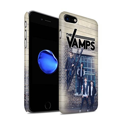 Offiziell The Vamps Hülle / Matte Snap-On Case für Apple iPhone 8 / Pack 6pcs Muster / The Vamps Fotoshoot Kollektion Tagebuch