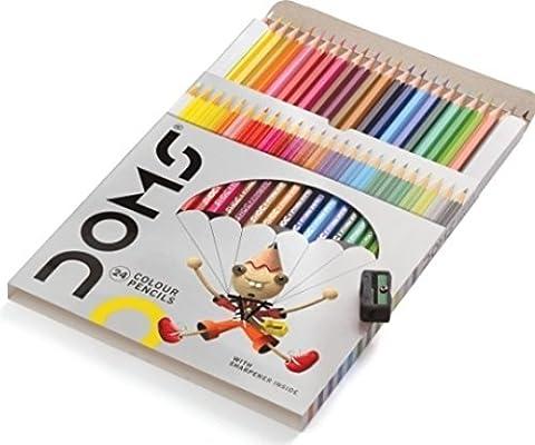 24Farbige Bleistifte Soft Core Farbe Bleistift Set für Kinder Erwachsene Färben Bücher Zeichnen, Schreiben Skizzieren (24Zählen)