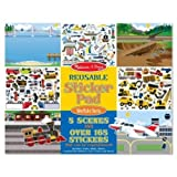 #9: Reusable Sticker Pad Vehicles