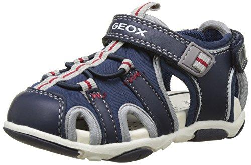 Geox Baby Jungen B Sandal Agasim Boy B, Blau (Navy/GREYC0661), 23 EU