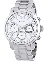 Guess Damen-Armbanduhr Analog Quarz Edelstahl W0330L3