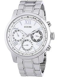Guess - W0330L3 - Montre Femme - Quartz Chronographe - Bracelet Acier Inoxydable Argent