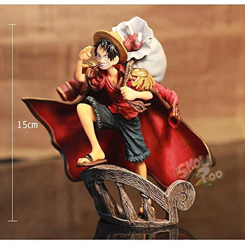ZHAOHUIFANG Dekoration Eagle Eye Mihawk Modell Statue Kind Geburtstags-Geschenk-Sammlung (15 cm Höhe) Luffy